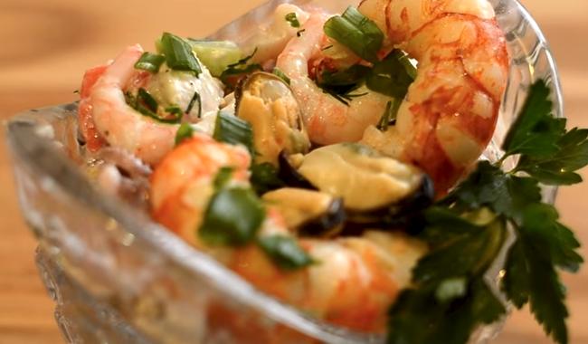 Рецепты из кальмаров на праздничный стол рецепты простые