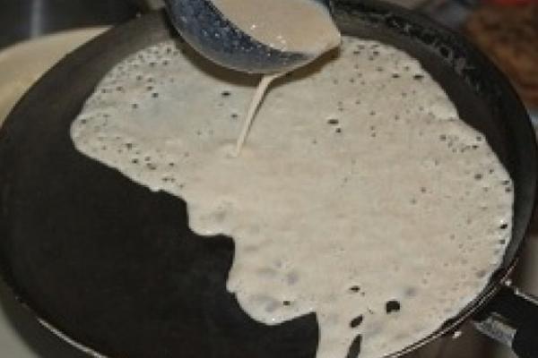 Ажурные блинчики на молоке