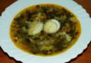Щавелевый суп с яйцом — 7 классических рецептов