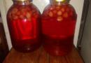 Компот из виктории (клубники) на зиму — рецепт на 3 литровую банку