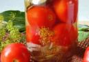 Помидоры маринованные на зиму — очень вкусные томаты быстрого приготовления