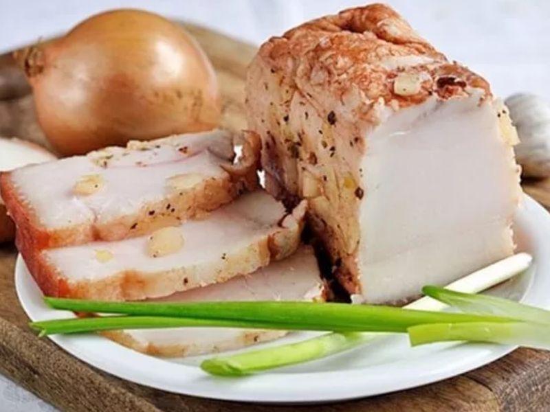 Сало в луковой шелухе - самый вкусный рецепт в домашних условиях видео