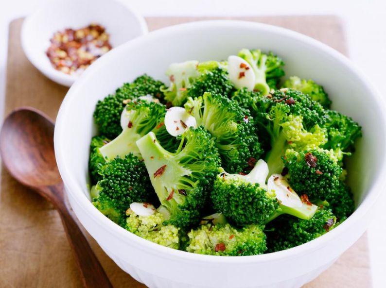 приготовление капусты брокколи на сковороде