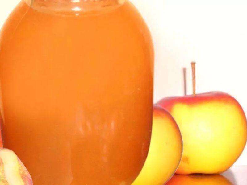 Как сварить яблочный сок на зиму