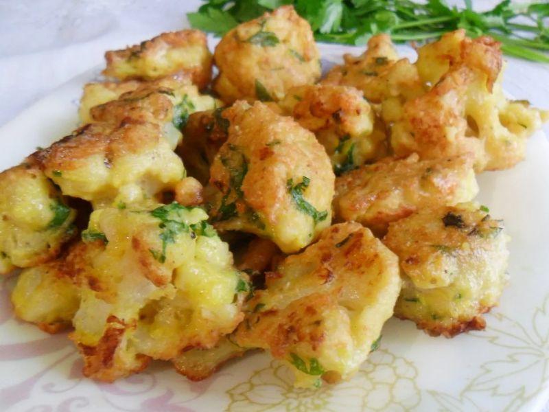 Цветная капуста в кляре на сковороде - рецепт пошаговый с фото