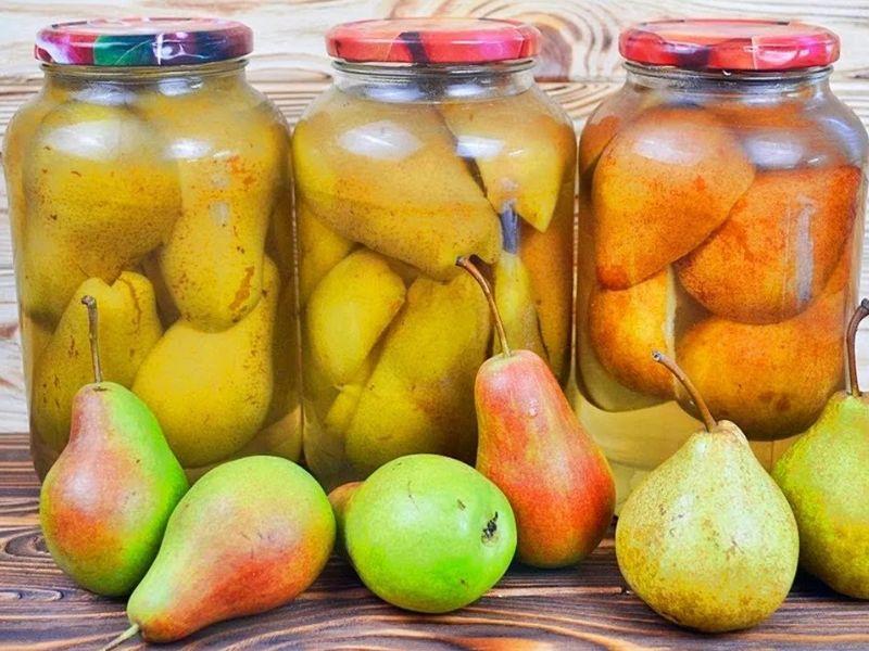 Грушевый компот на зиму — рецепты компота из груш на 3 литровую банку
