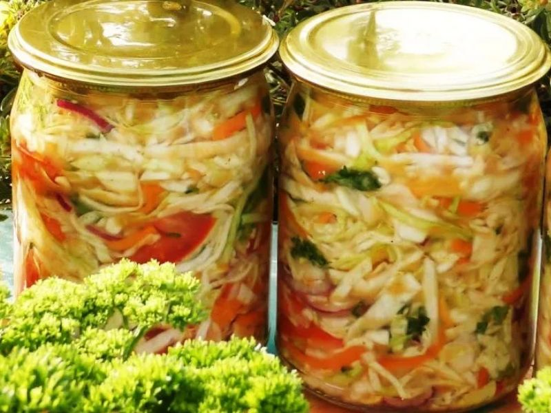 антенн виде рецепты салатов на зиму новинки с фото когда смешиваются