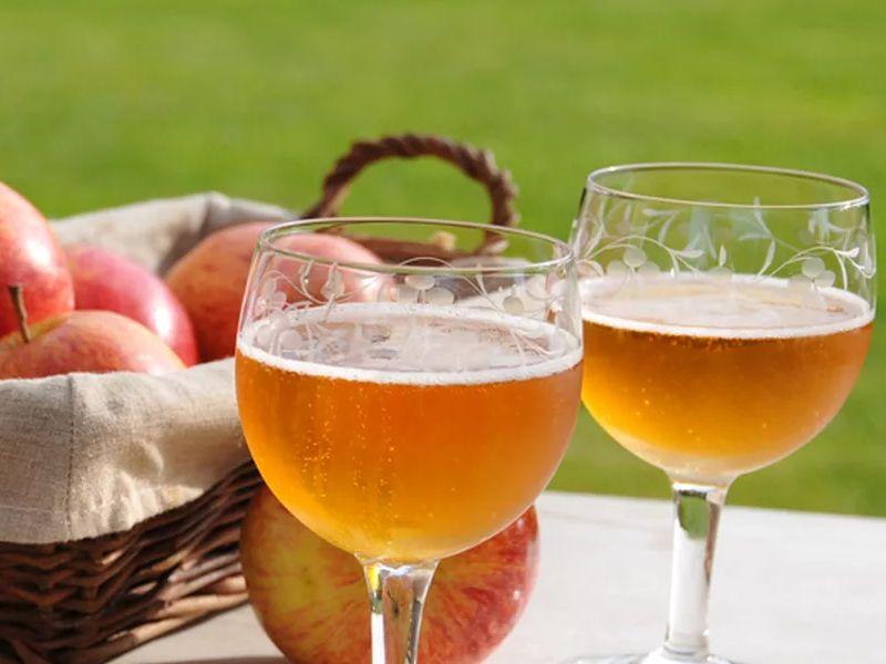 Сидр из яблочного сока — простые рецепты в домашних условиях