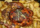 Курица с картошкой в духовке — очень вкусные рецепты