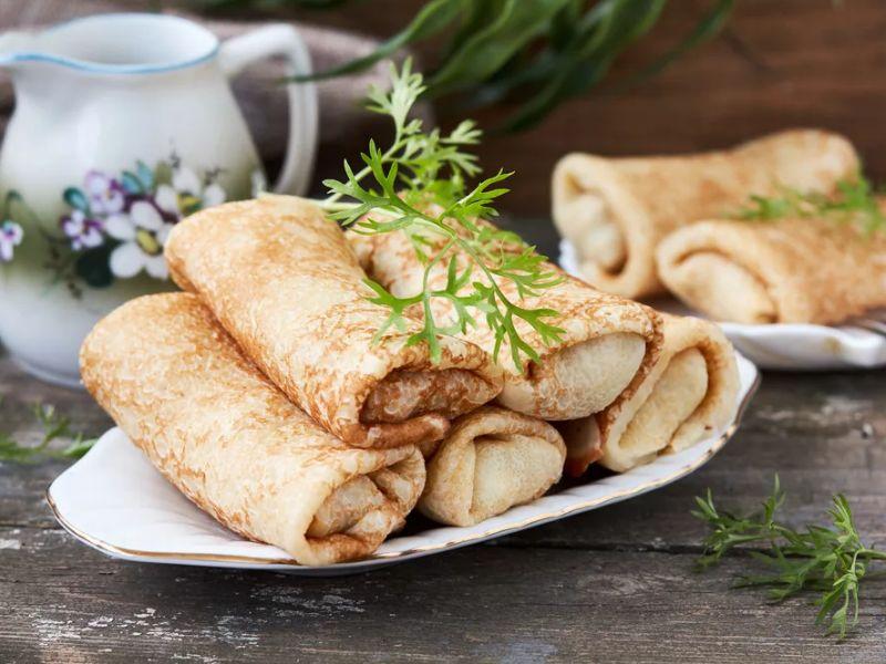 Блины (блинчики) фаршированные печенью – очень вкусные рецепты
