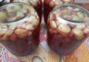 Компот из вишни и яблок на зиму — простой рецепт на 3 литровую банку