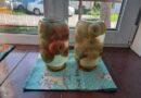 Компот из ревеня и яблок на зиму